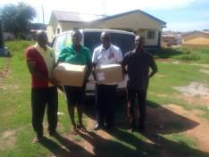 Nananom Donating Medical supplies